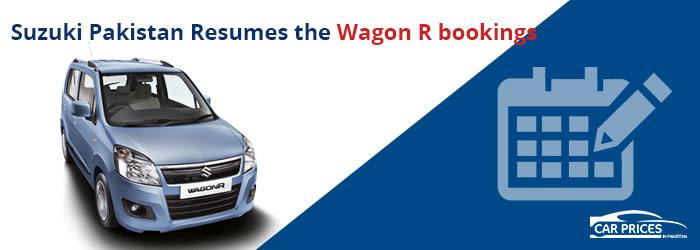 Suzuki Pakistan Resumes the Wagon R bookings
